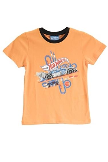 Hot Wheels Hot Wheels Lisanslı Mint Erkek Çocuk T-Shirt Oranj